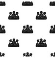conference icon in black style isolated on white vector image vector image