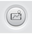GPS Navigation Icon vector image vector image
