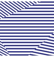 Horizontal striped background vector image