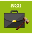 judge icons vector image