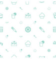 slice icons pattern seamless white background vector image vector image