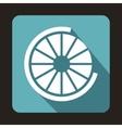 Web preloader icon flat style vector image vector image