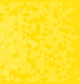 abstract background with yellow triangles vector image