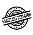 Assistant Director rubber stamp vector image vector image