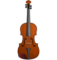 classical violin vector image vector image