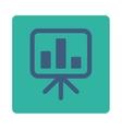 Display icon vector image vector image