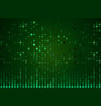 green abstract halftone background vector image