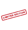 limited edition rubber stamp vector image vector image