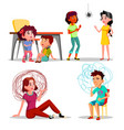 phobia anxiety panic attack depression vector image