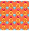 Precious ring seamless pattern vector image vector image