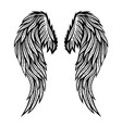 sign of angel wings