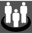 Social Group icon vector image vector image