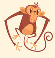 295monkey vector image