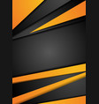 black and orange tech corporate background