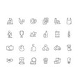 garbage icon rubbish plastic and paper vector image