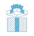 gift present box vector image vector image