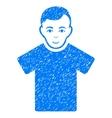 Guy Grainy Texture Icon vector image vector image