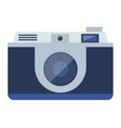 isolated camera design vector image vector image