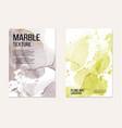 marble card presentation invitation card business vector image