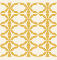 seamless geometric pattern yellow texture vector image vector image