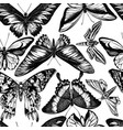 seamless pattern with black and white wallace s vector image