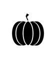 pumpkin icon in trendy flat style isolated on vector image