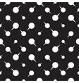 Seamless pattern background with dots arrows vector image