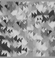 abstract textured grey triangle pattern vector image