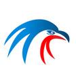 american usa eagle pride icon vector image
