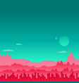 arcade game background mars space vector image