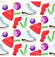 christmas seamless pattern cute colorful vector image vector image