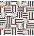 Digital pastel stripes vector image vector image
