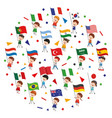 flags concept vector image
