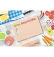 Food and cooking banner For decoration web-sites vector image vector image