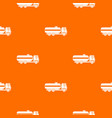 fuel tanker truck pattern seamless vector image vector image