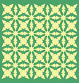 geometric intelaced pattern vector image vector image