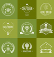 Golf Club Logo vector image