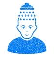 Head Shower Grainy Texture Icon