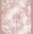 imperial baroque ornament wallpaper background vector image vector image