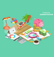 isometric conceptual of vector image