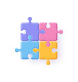 puzzle jigsaw incomplete data concept vector image