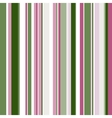 Retro seamless pattern with color stripes vector image vector image