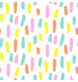 seamless brushstroke pattern vector image