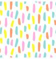 seamless brushstroke pattern vector image vector image