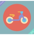 Transportation Flat Icon Pictogram vector image vector image