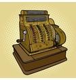 Vintage retro cash machine pop art style vector image vector image