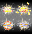 best price and special price banner set vector image vector image