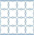 blue and white ornamental seamless pattern vector image vector image