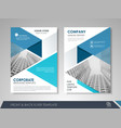 business flyer cover design vector image vector image