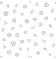 cryptocurrency seamless pattern background vector image vector image